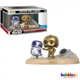R2-D2 & C-3PO Desert Exclusive Figura FUNKO POP Star Wars