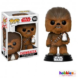The Last Jedi Chewbacca with Porg Figura FUNKO POP Star Wars