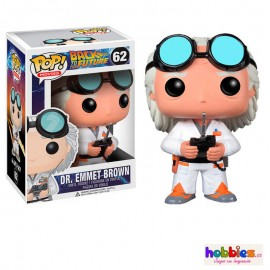 Dr Emmet Brown Figura FUNKO POP Regreso al futuro